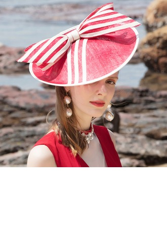 Ladies' Beautiful/Glamourous/Elegant/Simple Cambric Beach/Sun Hats