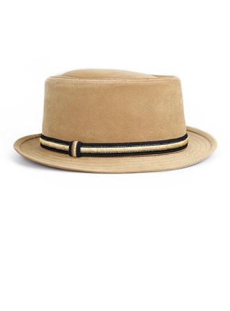 Maschile Affascinante/Stile classico Poliestere Cappello Fedora/Cappello Panama