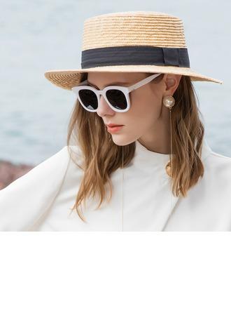 Dames Glamour/Simple La paille de blé Chapeaux de plage / soleil