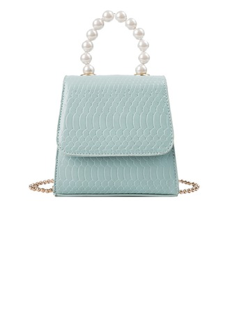 Charming PU Clutches/Satchel/Top Handle