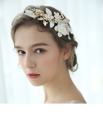 Ladies Glamourous Crystal/Alloy Headbands Crystal (Sold in single piece)