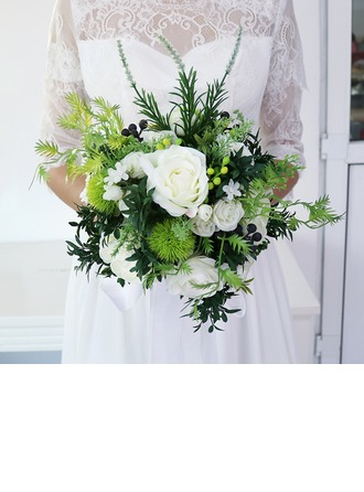 Forma libre Ramos de novia/Ramos de la dama de honor -