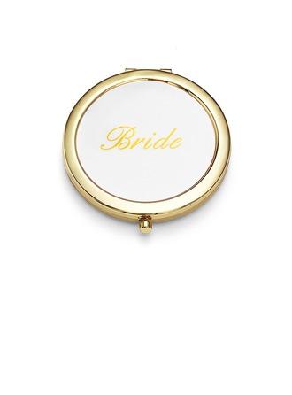 Braut-Geschenke - Individualisiert Sexy Edelstahl Taschenspiegel