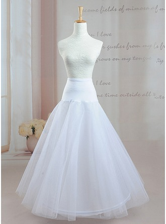 Women Taffeta Floor-length Petticoats