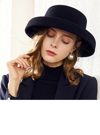 Señoras' Glamorosa/Simple/Asombroso/Niza Madera Boina Sombrero
