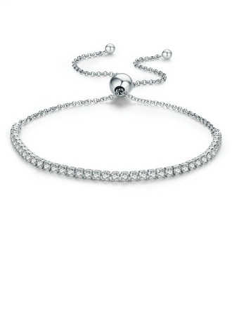 Delikat kæde Brude armbånd Bolo armbånd - Valentines Gaver Til Hende