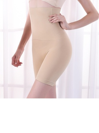 Women Feminine Cotton High Waist Mid Thigh Body Shaper Panties