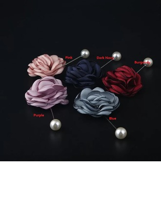 Attractive Cloth Boutonniere (Sold in a single piece) -