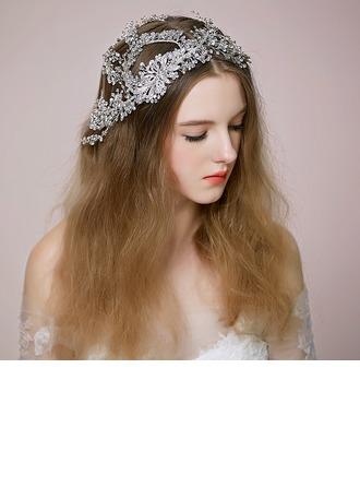 Glamourous Rhinestone/Alloy Headbands