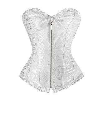 Kvinner Sexy Polyester Taille Cinchers Corrigerend Ondergoed