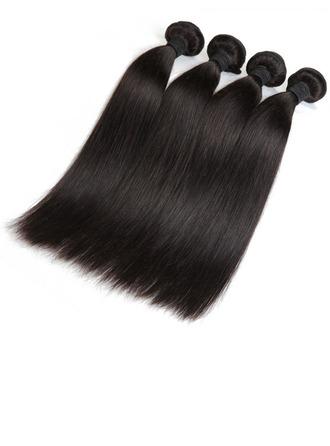 5A Virgin / remy Derecho Cabello humano Postizo de cabello humano (Vendido en una sola pieza) 100g