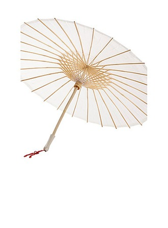 Bamboo/Silk Wedding Umbrellas