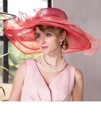 Dames Beau/Mode/Élégante Batiste Chapeaux de plage / soleil