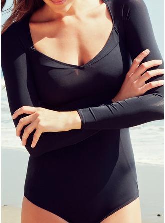 Elegant Spandex Lycra Swimsuit