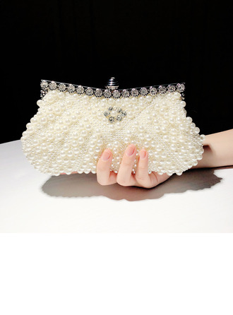 Magnifique Perle d'imitation Pochettes/Cartable