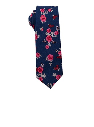 Floral Cotton Tie