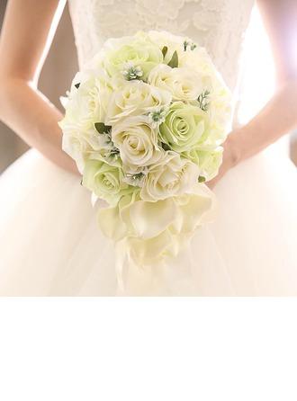 Kaskáda Svatební Kytice (Prodává se jako jeden kus) -