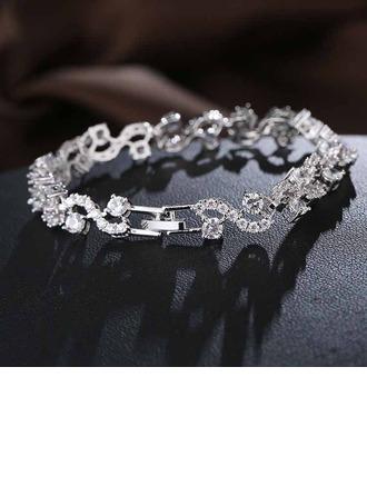 Brillant Zircon de avec Zircon de Femmes Bracelets de mode (Vendu dans une seule pièce)