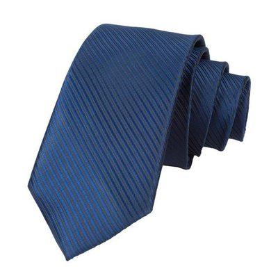 Stripe Polyester Stropdas