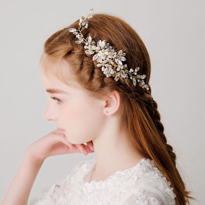 With Imitation Pearls/Rhinestones Combs & Barrettes (Sold in a single piece)