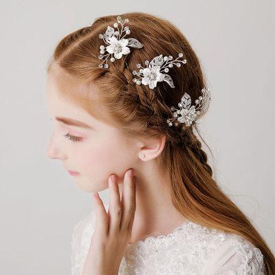 With Imitation Pearls/Rhinestones Hairpins (Set of 3)