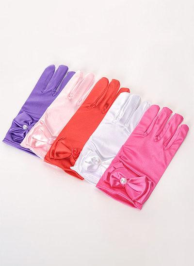 Elastic spandex Wrist Length Glove