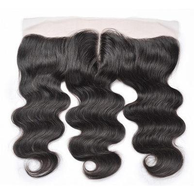 "13""*4"" 4A Gerade Menschliches Haar Bedeckung (Einzelstück verkauft)"
