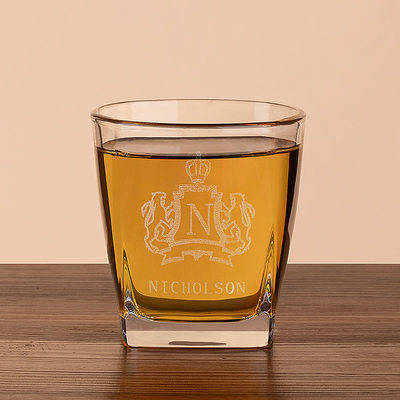 Groom Gaver - Personlig Vintage Stil Glass Whisky Glass