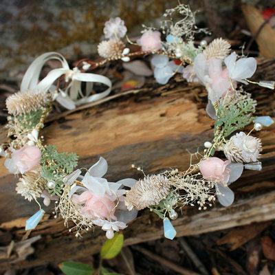Señoras Especial Flores de seda Diademas