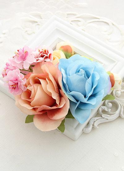 avec Une fleur Fleur Bandeau