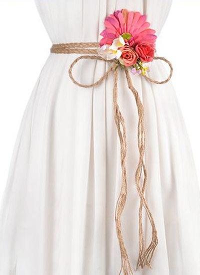 Gorgeous/Elegante/Squisito PU Cintura con Perline