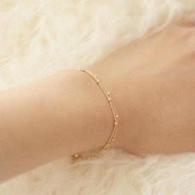 Antioxidante Cadena delicada Bracelets De Chaîne -