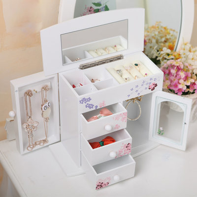 Bride Gifts - Beautiful Classic Wooden Jewelry Box