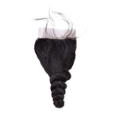 "4""*4"" 4A Remix Gevşek İnsan saçı kapatma (Tek parça halinde satılır) 100 g"