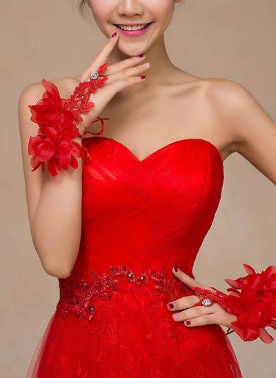 Spets Handskar Bridal