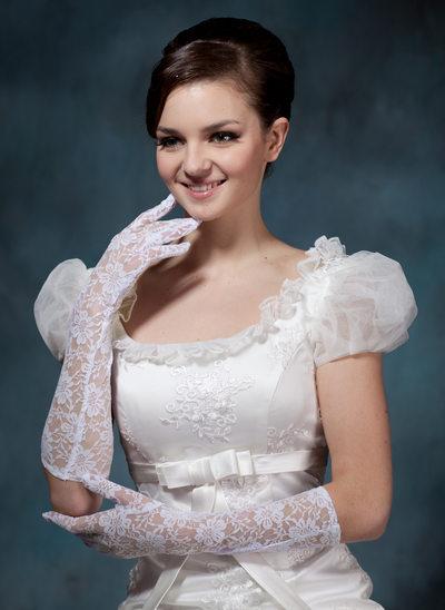 Spets Elbow Längd Handskar Bridal