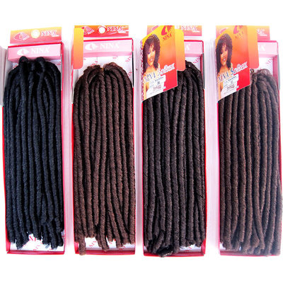 Dread Locks / Faux Locs Synthetisches Haar Zöpfe 15 Stränge pro Packung 90 g