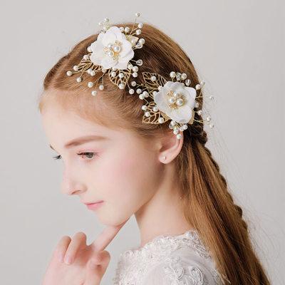 mit Faux-Perlen/Blume Haarnadeln (Set von 2)
