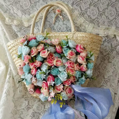 Bridesmaid Gifts - Fascinating Straw Tote Bag