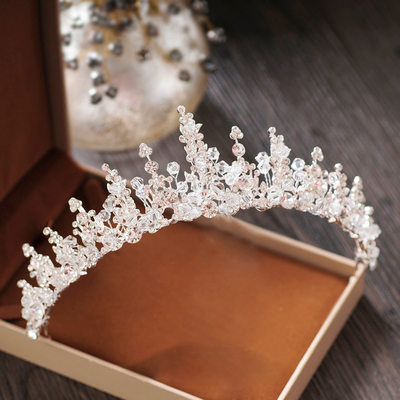 Ladies Beautiful Crystal/Rhinestone/Alloy Tiaras With Crystal