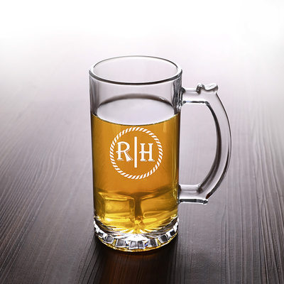 Groom Gifts - Personalized Classic Elegant Fashion Glass Glassware and Barware