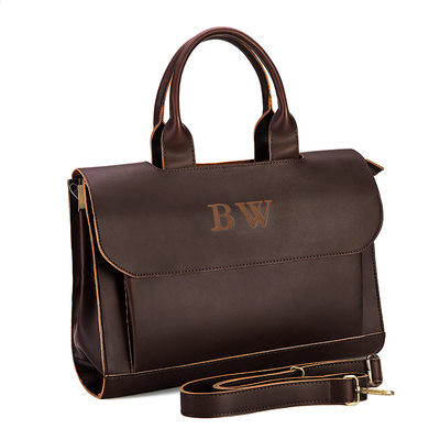 Groom Gifts - Personalized Classic Elegant Imitation Leather Bag