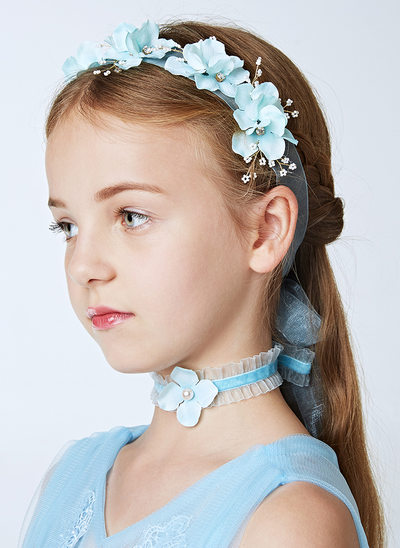 Imitation Pearls Headbands/Wristband/Collar (Set of 3)