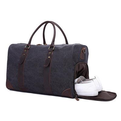 Groomsmen Gaver - Klassisk Stil Lerret Duffle Bag