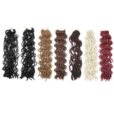 Ahdas Lukot / Faux Locs Synteettiset hiukset punokset 24 kpl pakkausta kohden 100g