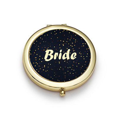 Sposa Regali - Stile Classico Brillante Speciale Acciaio Inossidabile Specchio compatto
