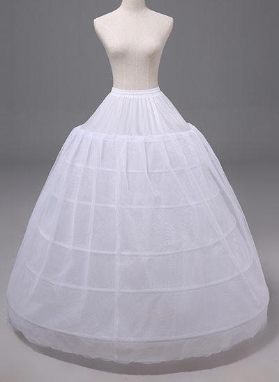 Kvinner Polyester Onderrokken