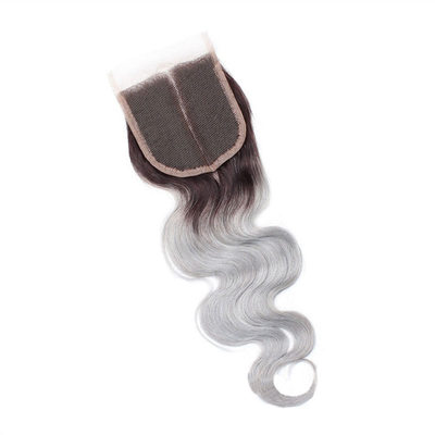 "4""*4"" 4A Non remy Body Human Hair Closure (Sold in a single piece)"