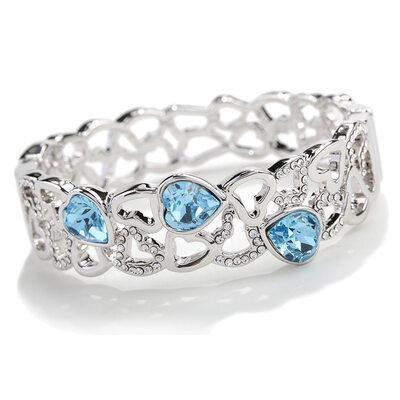 Ladies' Beautiful Alloy Rhinestone/Austrian Crystal Bracelets For Bride/For Bridesmaid