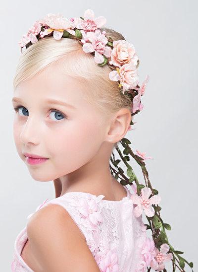 Kunstig Silke med Blomst Flower Headband